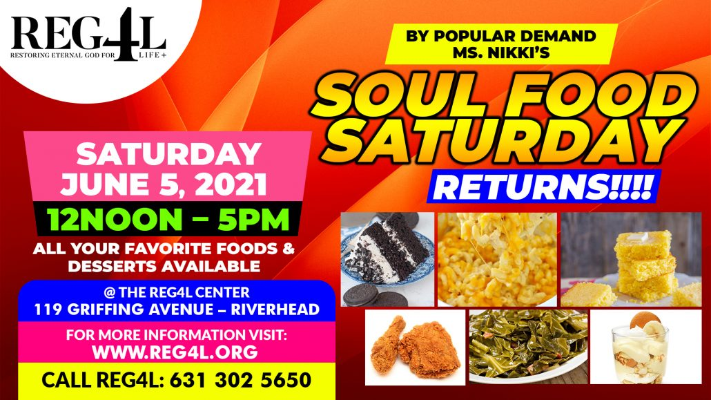 SOUL FOOD SATURDAY